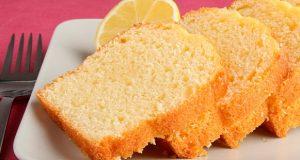 bizcocho de limón fácil