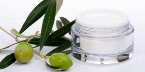 aceite de oliva en cosméticos