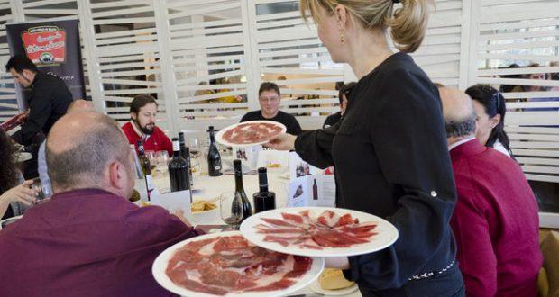 jamones ibéricos de Extremadura